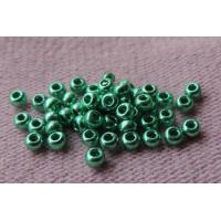 (18558.10.0) Бисер металлик зеленый