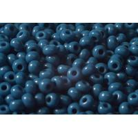 (33210.09.0) Бисер 9/0 натуральный синий